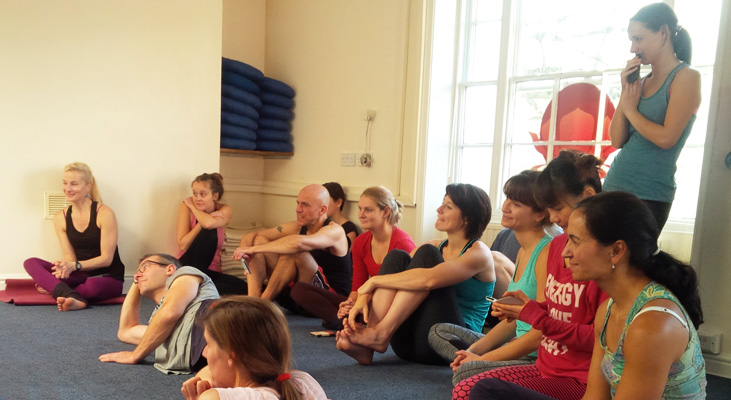 Yoga course at Ashtanga Yoga workshop exeter